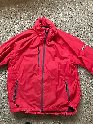 Musto summer sailing jacket, in Red, size Large