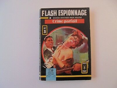 Flash Espionnage    Crime Parfait    N° 3