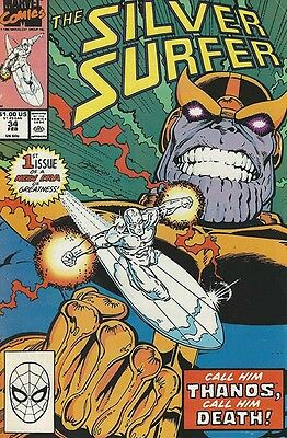 Silver Surfer (Featuring Thanos) #34 - 1990