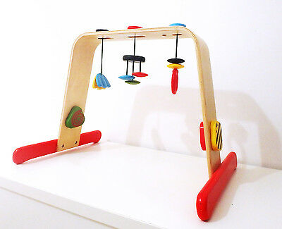 ikea LEKA baby gym infant wooden activity play mobile
