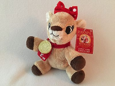 Rudolph The Red Nose Reindeer 50 Years Clarice In Mug Plush Only