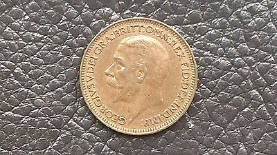 KING GEORGE V FARTHING 1932 coin