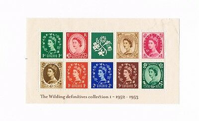 2002 Wilding Definitive collection I miniature sheet. Unmounted.