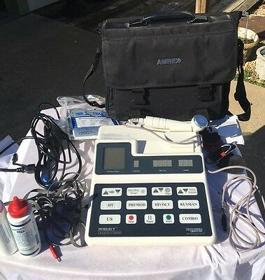 Very Nice Chattanooga Intelect Legend Combination Unit 2C With Ultrasound & Case