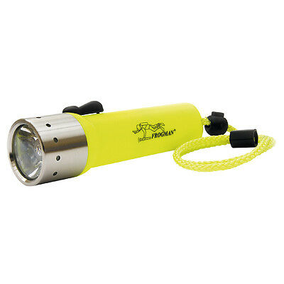 LED Lenser D14.2 Frogman Neon Yellow Diving torch - 400 Lumens upgraded version