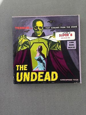 Vintage THE UNDEAD 8MM Film