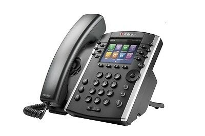 Brand new Polycom VVX400 PHONE - POE - NO PSU- Colour Screen Business VoIP Phone