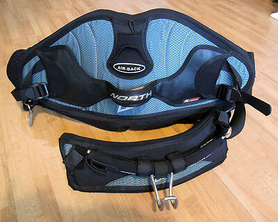 North Kiteboarding Seat Harness with 'Air Back' Prolimit Size Medium USED ONCE