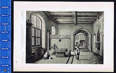 Christ in the House of Mary & Martha  -  Steenwyck the Younger-1939 Rotogravure