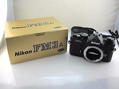 Nikon FM3A 35mm SLR Film Camera Body Only