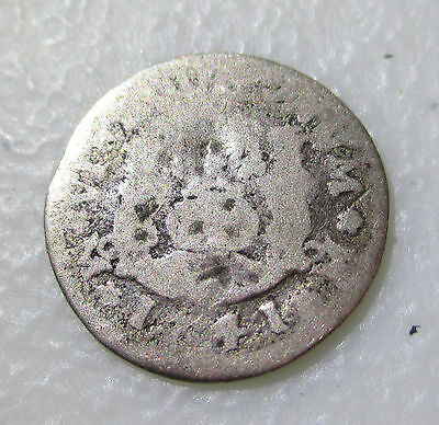 1741 SILVER MEXICO 1/2 REAL PHILIP V - Lot AB52