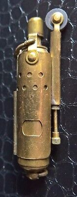 Vintage Slide Sleeve trench art style petrol lighter