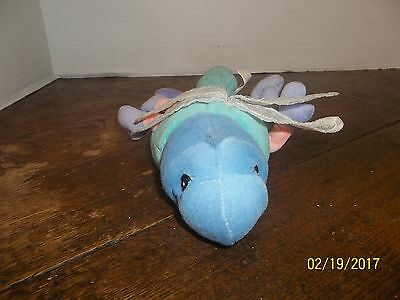 1999 Precious Moments Tender Tails Dragonfly Bug Plush Bean Bag