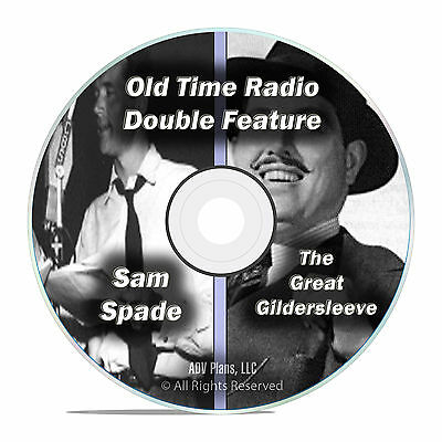 Adventures of Sam Spade, The Great Gildersleeve, ALL 667 EPISODES, OTR DVD F74