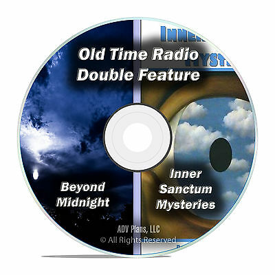 Inner Sanctum Mysteries & Beyond Midnight 308 ALL KNOWN EPISODES, OTR DVD F75