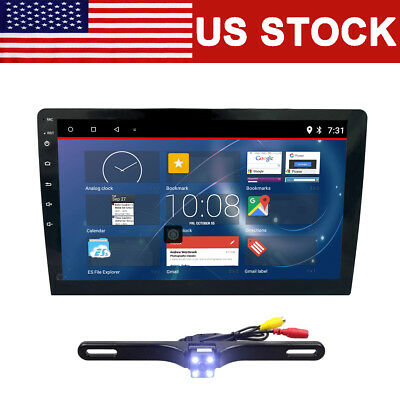 """Double 2 Din 6.2"""" Touch In Dash Bluetooth Stereo Car CD DVD MP3 Radio Player+CAM"""