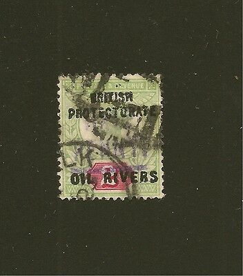 Niger Coast Protectorate Oil Rivers Overprint Forgery