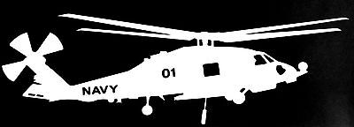 MH-60R ROMEO 'SEAHAWK', * Auto Window Decal *  8 Year Life Exterior Grade Vinyl
