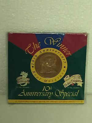 The Winner Collector Coin 10th Anniversary  Pocket Dragons