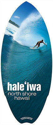 Hawaiian Mini Surfboard Wood Surf Hawaii Island North Shore Tiki Home Decor NIB