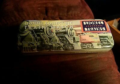 Collectable Lionel Trains Watch Tin