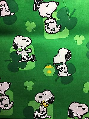 Snoopy St Patrick's Day Stethoscope Cover - NEW- Handmade - FREE S&H