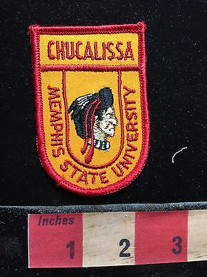 Vtg Chucalissa Memphis State University Tennessee Patch Native American 711