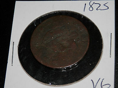 1825 CORONET HEAD and 1849 BRAIDED HAIR LARGE CENTS -  NICE Condition