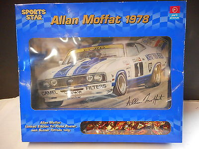 1978 Allan Moffat Tin Plate Poster Limited Edition Collectable