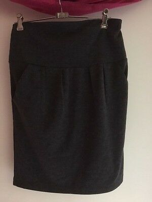 Pumpkin Patch Ladies Maternity Skirt - Dark Grey - Vgc