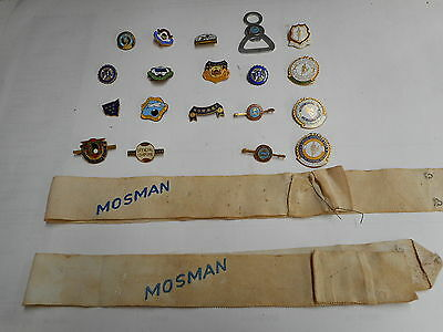 Qty Various Womens Bowling Nsw Badges Umpire And Some  Fitness Badges