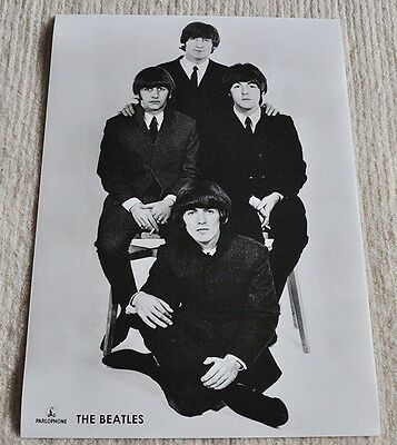 The Beatles poster Beatles promo poster '65 period RaRe!!!