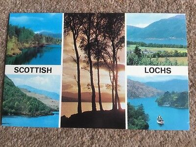 Scottish Lochs postcard