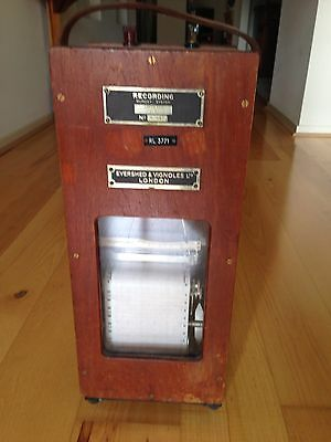 Old DC amp Graph Recorder