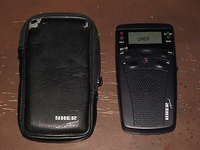 Uher Professional Dh-10 Audio Recorder W/ Memory Card ~ Black ~ Free Shipping!!!