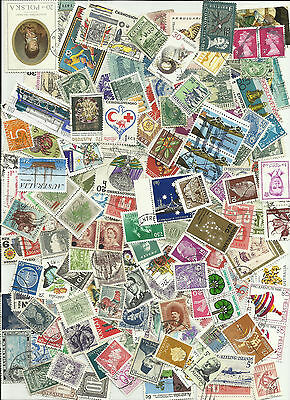 World stamps mixed collection 1900 - 1980s early and modern great mix ref_2c