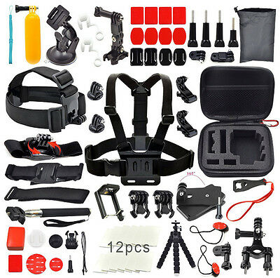Accessories Set Kit for GoPro Go pro Hero 5 Black/Silver Hero 4/3+/3/2 1