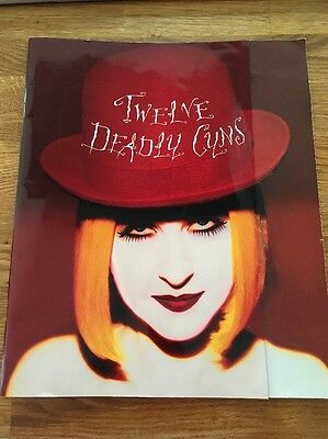 Cyndi Lauper * Twelve Deadly Cyns Tour Programme 1994