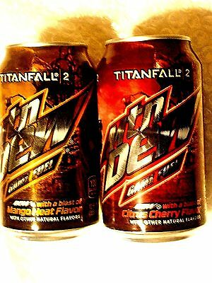 FULL Can MTN MOUNTAIN DEW GAME FUEL CITRUS CHERRY & MANGO HEAT TITANFALL 2  2016
