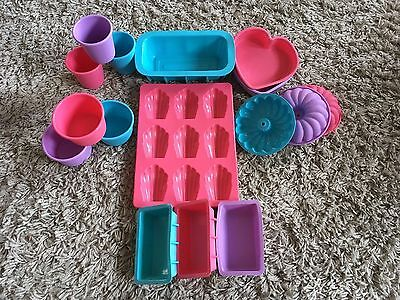 Silicone Cooking Moulds Baking Bundle Set Baking Tins Cookware
