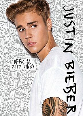 Justin Bieber A6 Official 2017 Diary New UK SELLER UK SELLER