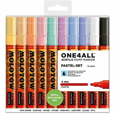 Molotow - One4All Acrylic Marker 227 Hs, Pastel-Set