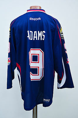 Red Bull Munchen Germany Ice Hockey Shirt Jersey Trikot Reebok Adams #9