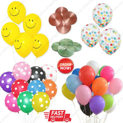 WHOLESALE Latex PLAIN BALONS BALLONS helium BALLOONS Quality Party BIRTHDAY UK
