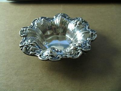 Francis 1 Sterling Silver Nut Dish Reed & Baton X569 Good