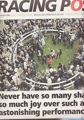 """Racing Post Newspaper - Sunday June 5, 2005  """"French Derby"""""""