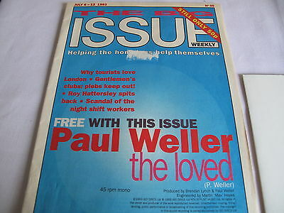 Paul Weller, Big Issue July 6-12 1993 With Free Clear Flexi Single