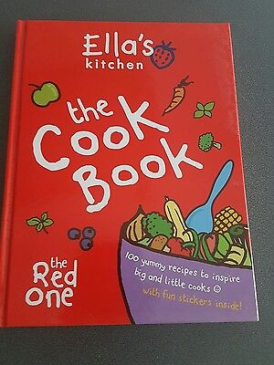 *Brand New* The Cookbook: The Red One by Ella's Kitchen Baby Book