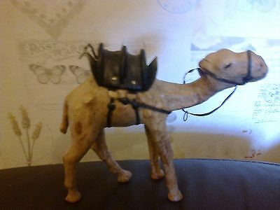 Camel Standing With Harness Resin Approx 17M Long 17Cm Tall