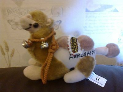 Camel Teddy Sitting With Harness Plush Approx 21M Long 14Cm Tall Lanzarote Bells